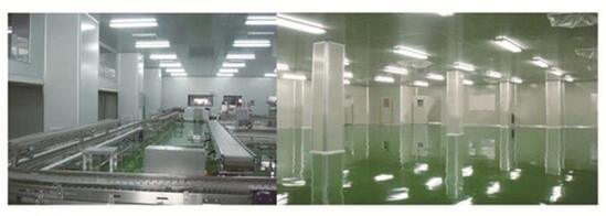 Aluminum Honeycomb Panels for Clean Room