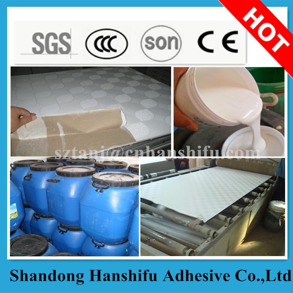 Water Based Gypsum Board PVC Aluminum Glue
