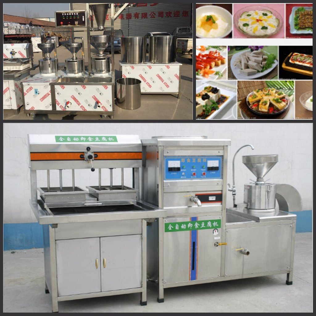 Factory Price Tofu Making Machine with Stainless Steel