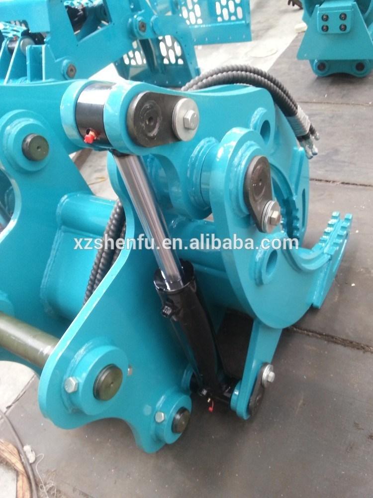 Excavator Grapple Hydraulic Grab for Kobelco Sk135 Excavator