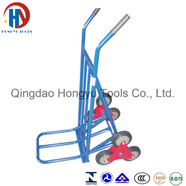 6 Wheels Climb Stairs Easily Ht1312b Warehouse Hand Trolley