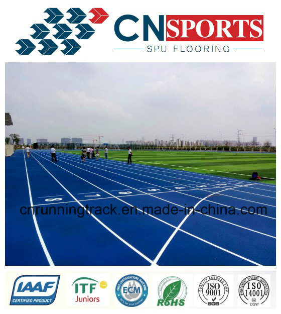 13mm Air Permeable Rubber Runway/Running Track for Park