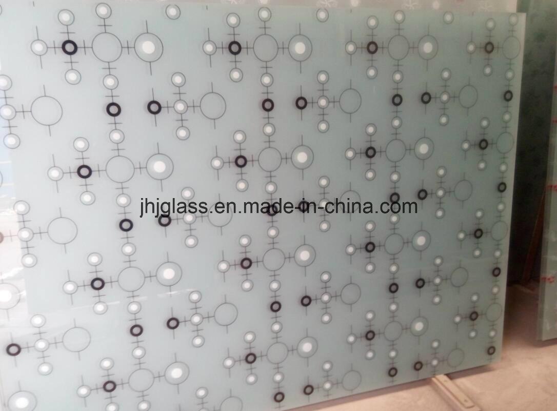 Silk Screen Glass, Mosaic Glass, Kitchen Door Glass, Window Glass