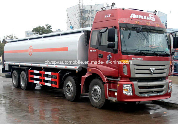 Foton Heavy Duty 8X4 30 Tons Fuel Tanker Truck 4 Axles Fuel Tank