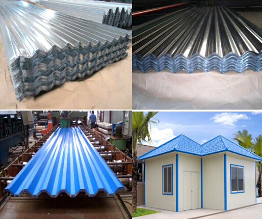 China Manufacturer Pattern Aluminium Roofing Tile for Building Construction