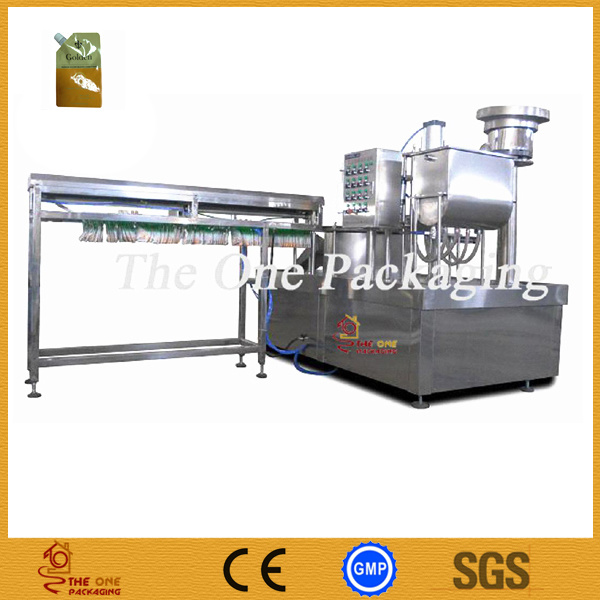 Standing Pouch Filling and Capping Machine/Stand-up Bag Packing Machine
