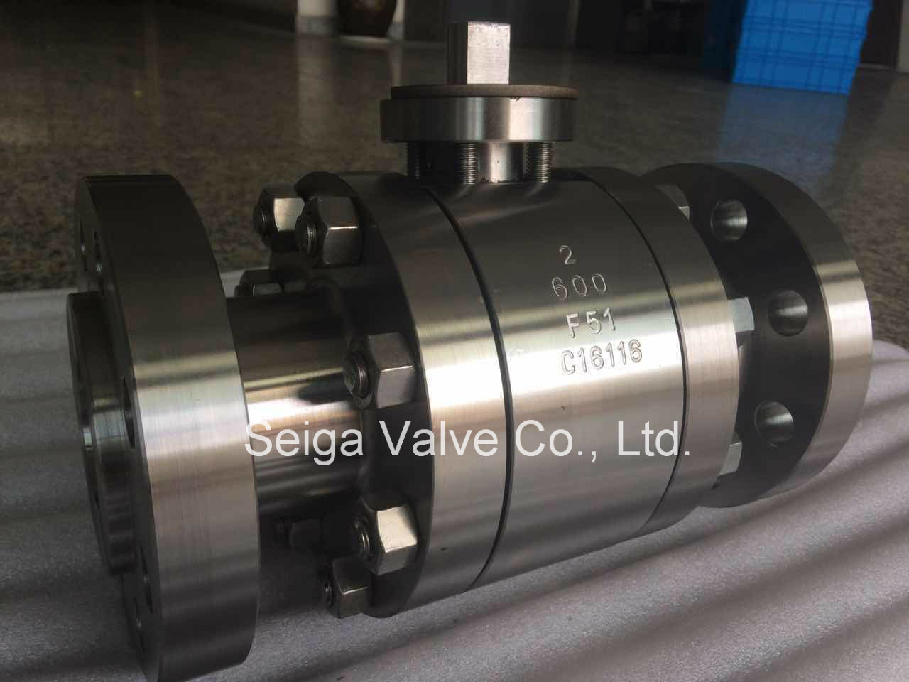 API F51 Forged Steel Ball Valve