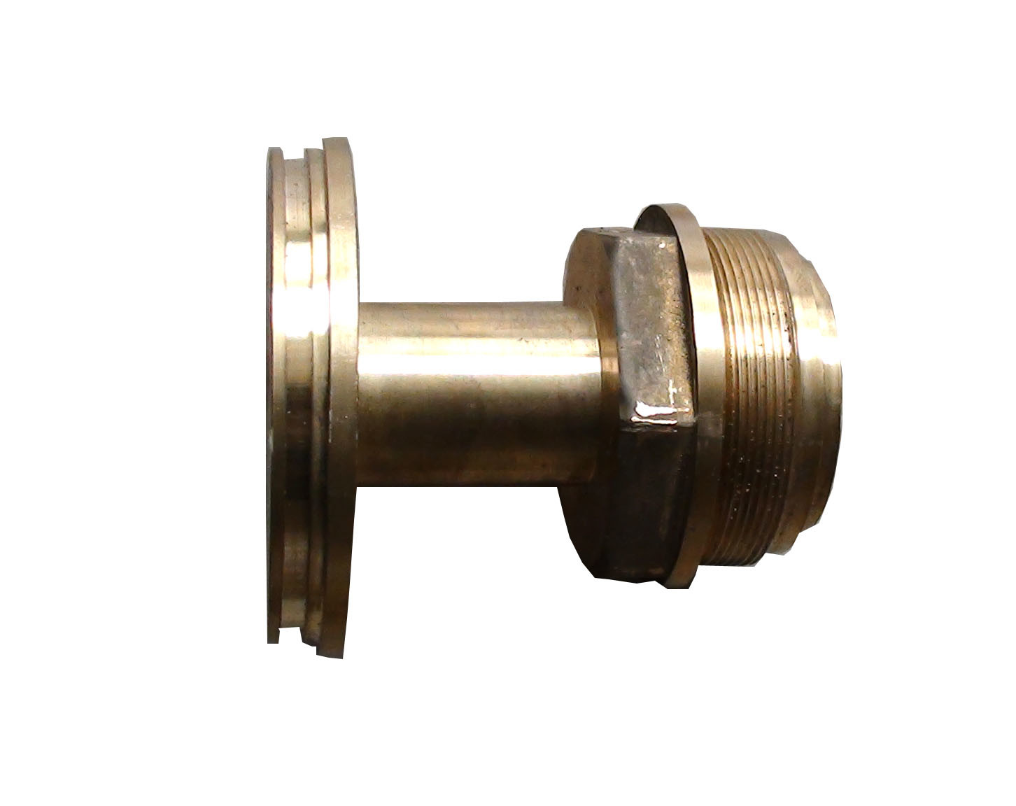 Solid Brass Hot Foreged Forging Part with CNC Machining