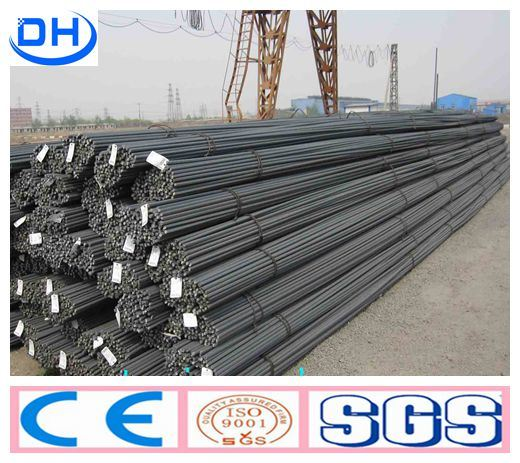 HRB500 6mm-32mm High Quality Deformed Steel Bar From Tangshan