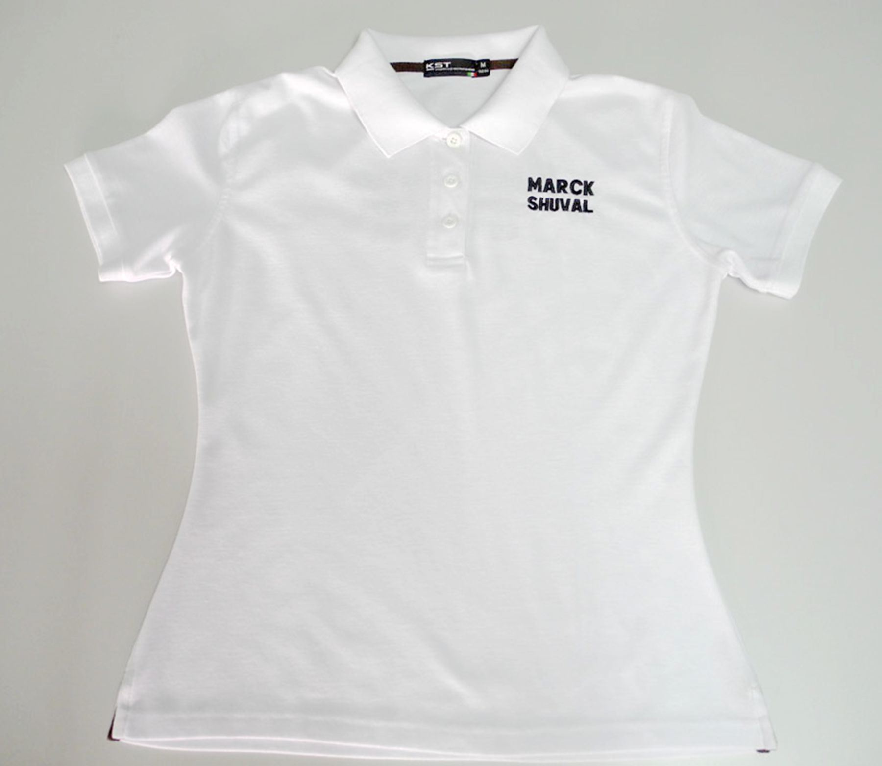 China Ladies Custom Polo Shirts With Embroidery Logo Photos
