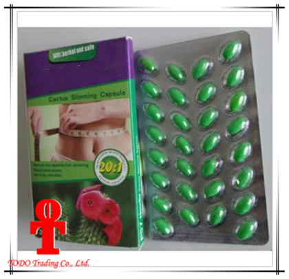 100% Original Hoodia Cactus Slimming Weight Loss Softgel Capsules