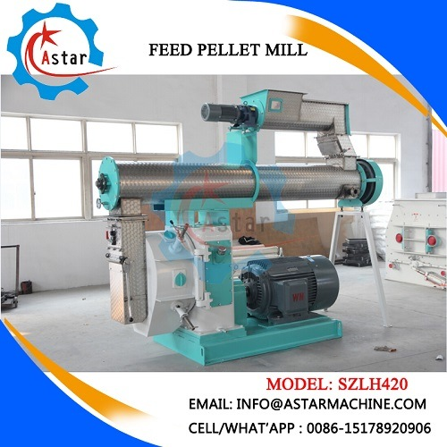 China Professional Manufacture Poultry Animal Feed Pellet Mill