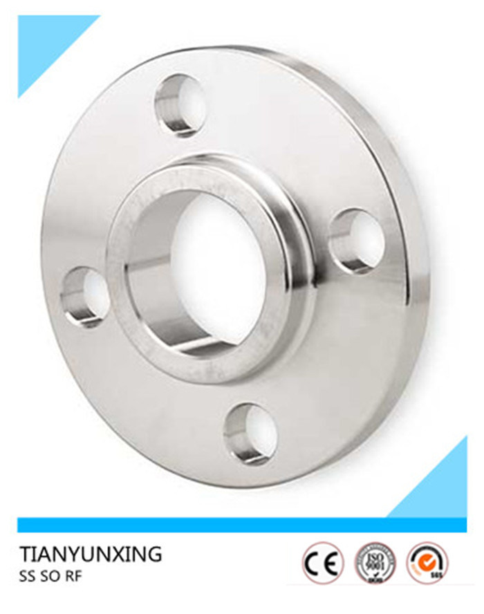 ASTM Forged RF Ss316 Slip on Stainless Steel Flange