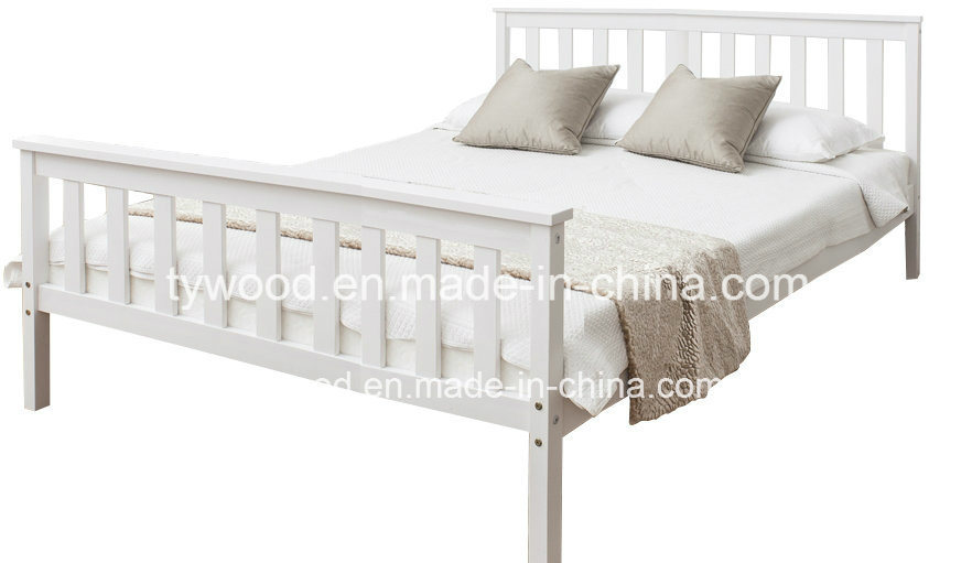 Double Bed Pine 4′6 Double Bed Wooden Frame