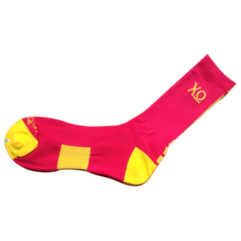 Color Nylon Cushion Sports Socks for Club (nc-2)