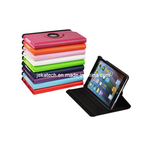 for iPad 2/3/4 360 Degree Rotating PU Leather Case