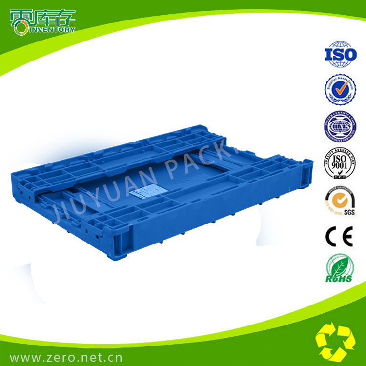 Transport Turnover Plastic Crates Used