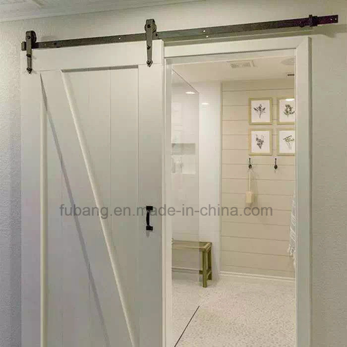 Exterior Residential Wood Barn Door Designs Hardwares for Houses