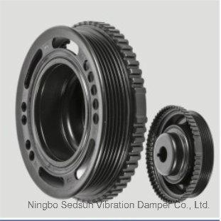 Torsional Vibration Damper / Crankshaft Pulley for Opel 90531581