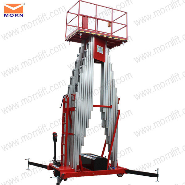 10m Hydraulic Lifting Platform for Aerial Work
