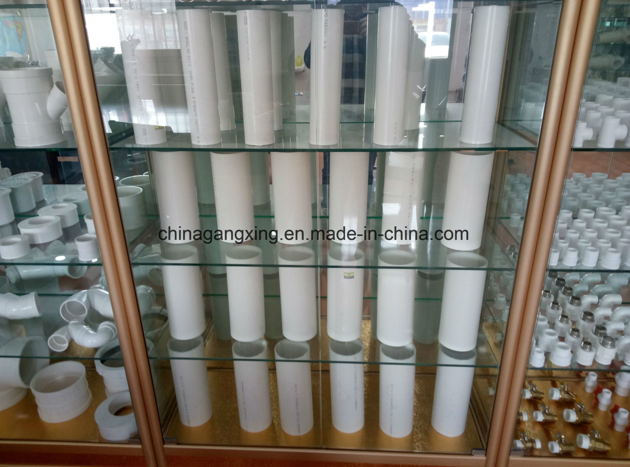 Hot and Cold Water Plastic PPR Pipe for Decoration