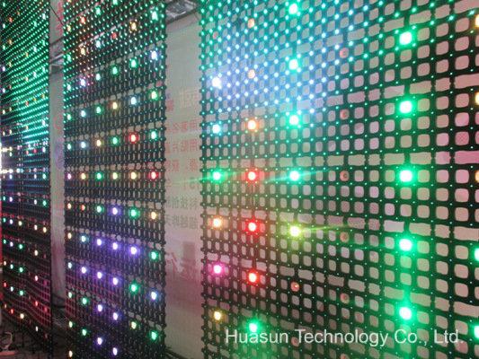 P50 & P200 LED Mesh Foldable Display