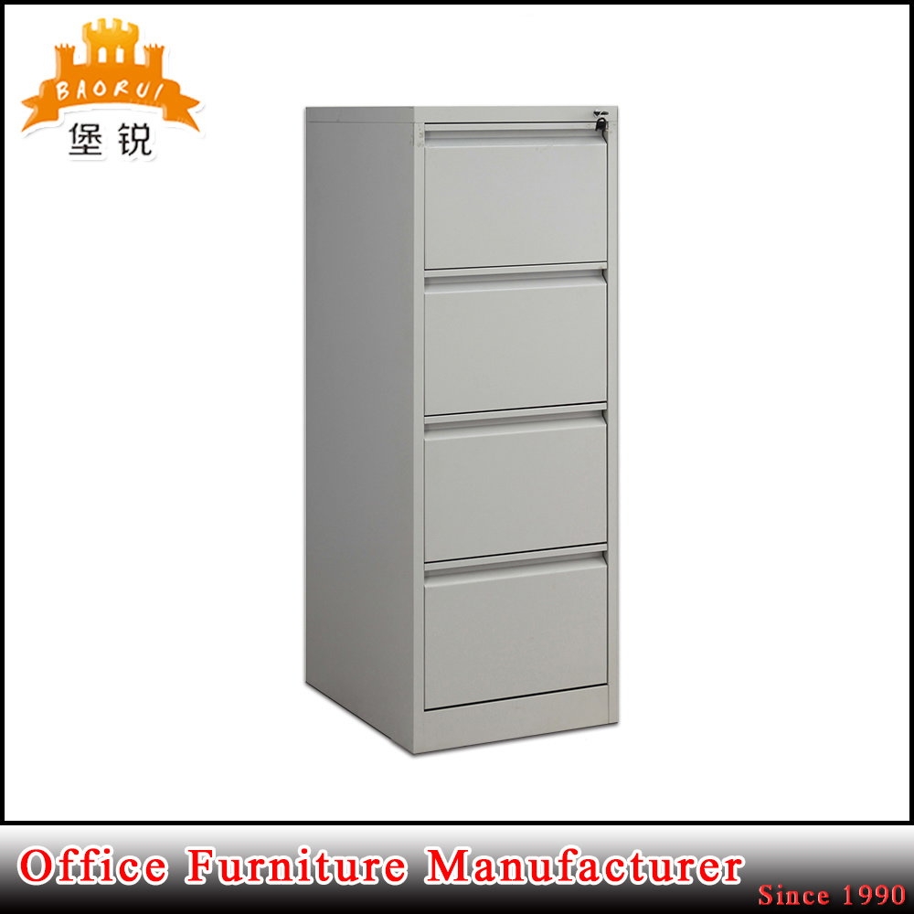 4 Drawer Steel Office Vertical Filing Cabinet