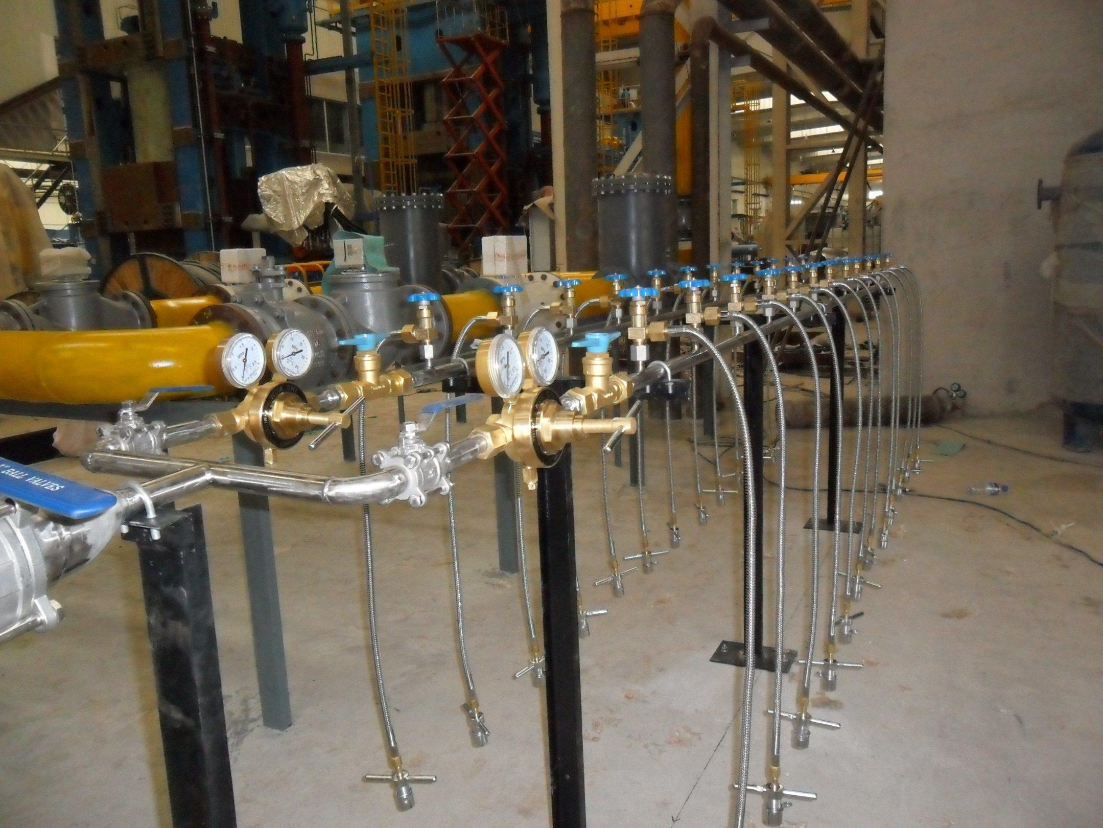 Gas Cylinder Filling Manifold