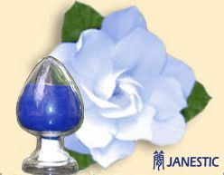Natural Plant Colorant Gardenia Blue (for Food and Drink)