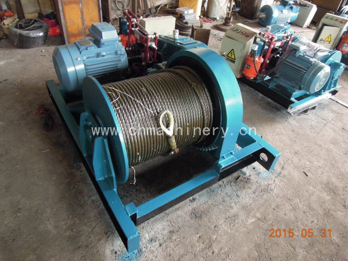 Steel Wire Rope Hoist Large Lifting Capacity
