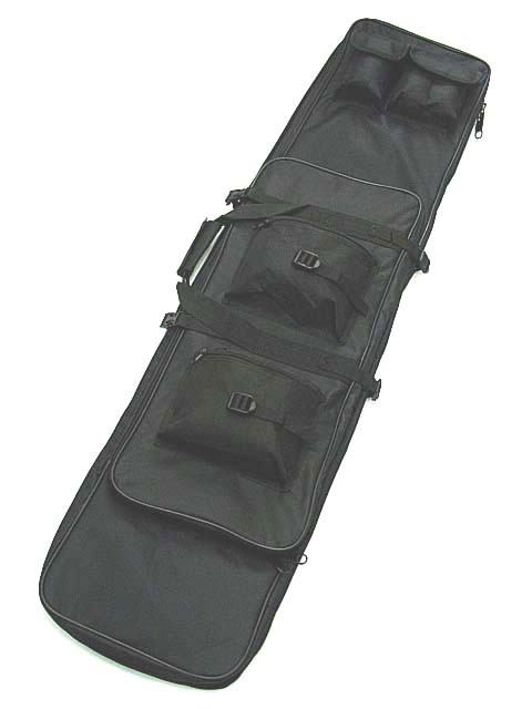 "48"" Dual Tactical Rifle Sniper Carry Case Gun Bag"