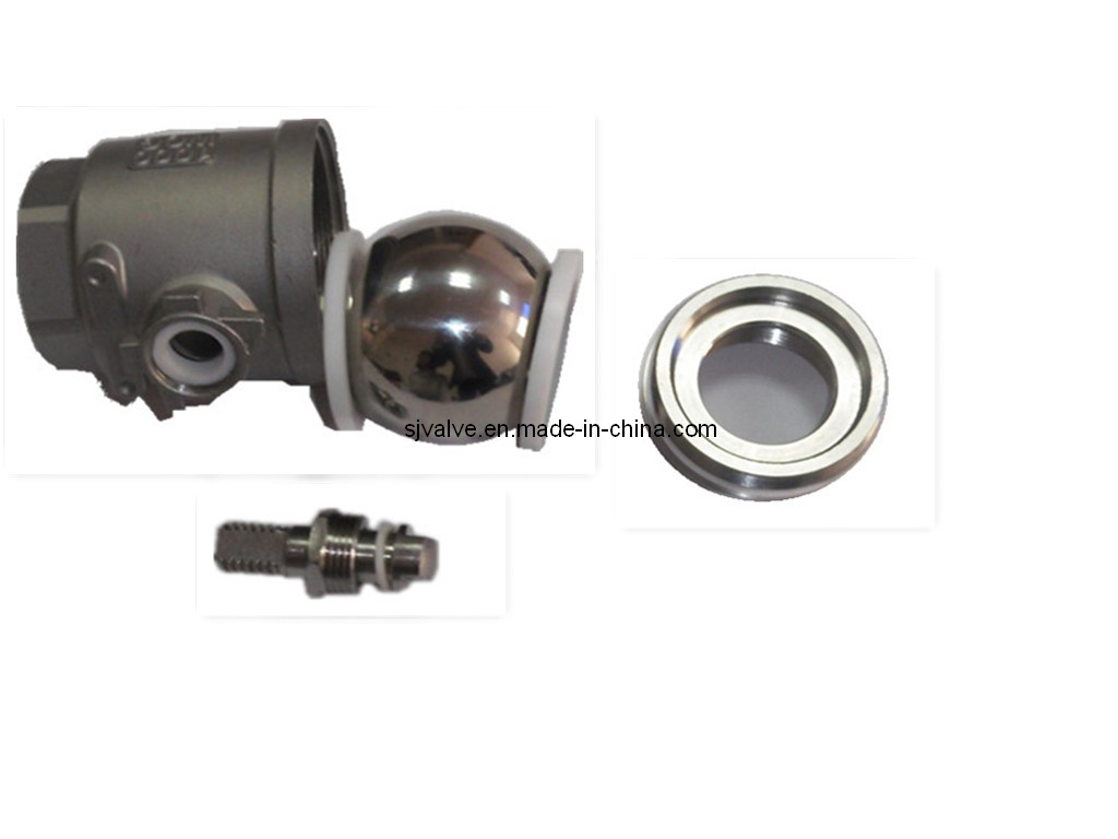 2PC Stainless Steel Floating Ball Valve