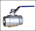 3-pc S/S Threaded Ball Valve