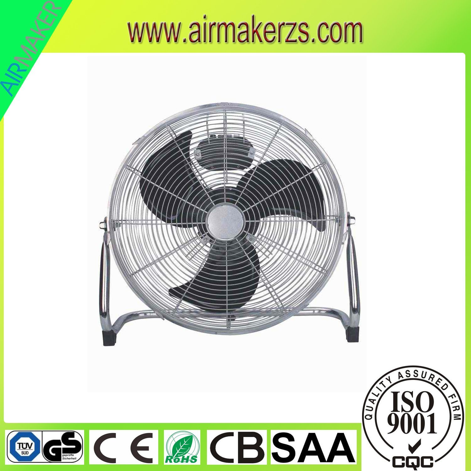 "20""Strong Air Delivery Floor Fan with CB Ce Approval"