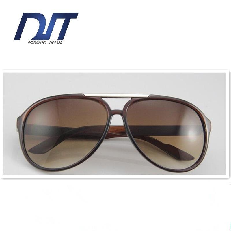 New Model and Pilot Plastic Men Sunglasses Promotion Glasses