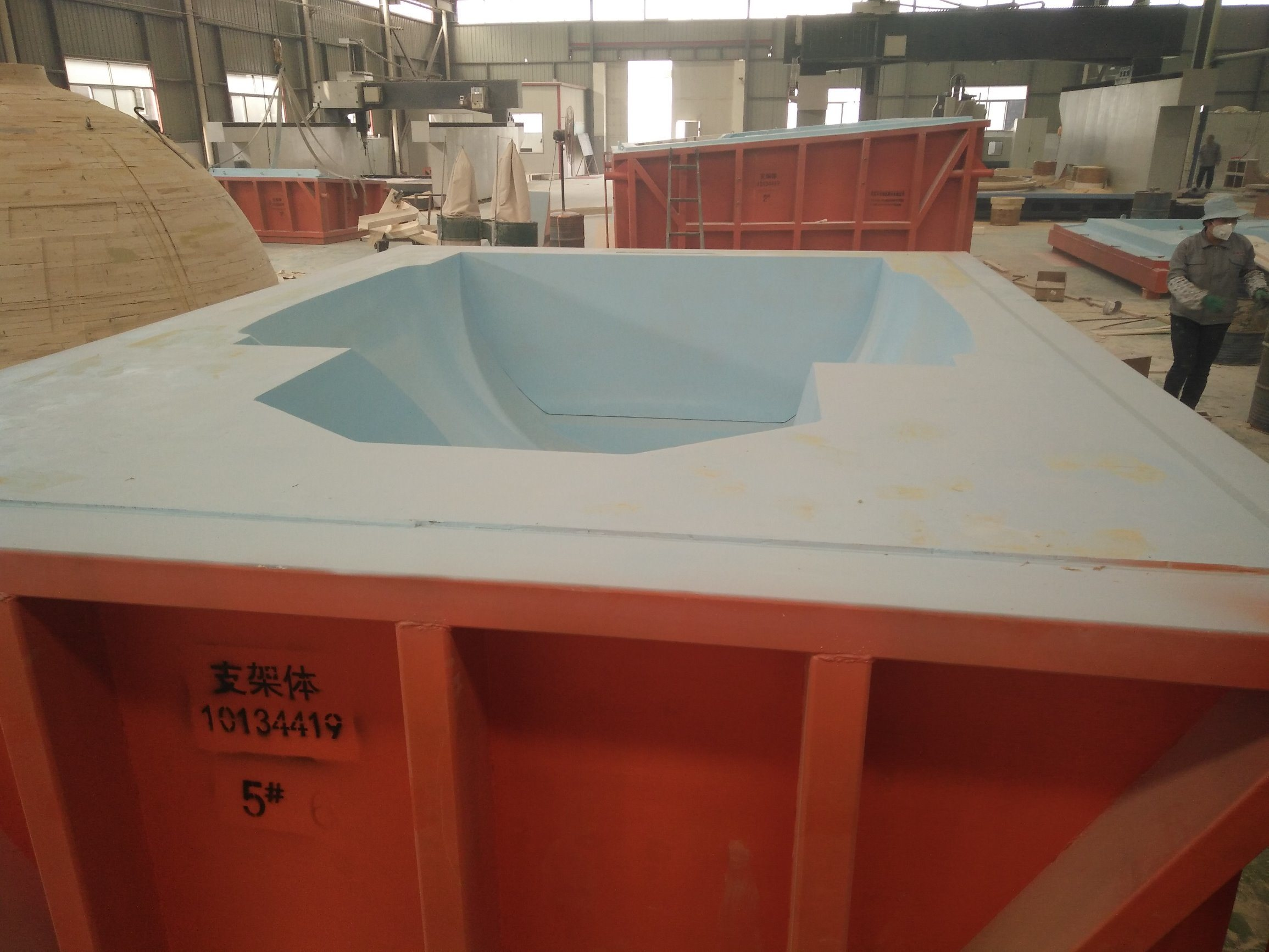 Wind Turbine Hub Mould in Wooden for Casting