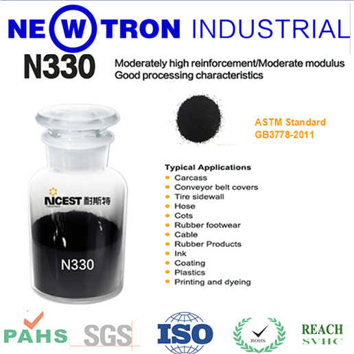 Granular Carbon Black N330, Black Carbon for Masterbatch