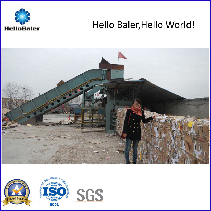 High Capacity Auto Tying Waste Paper Pressing Machine