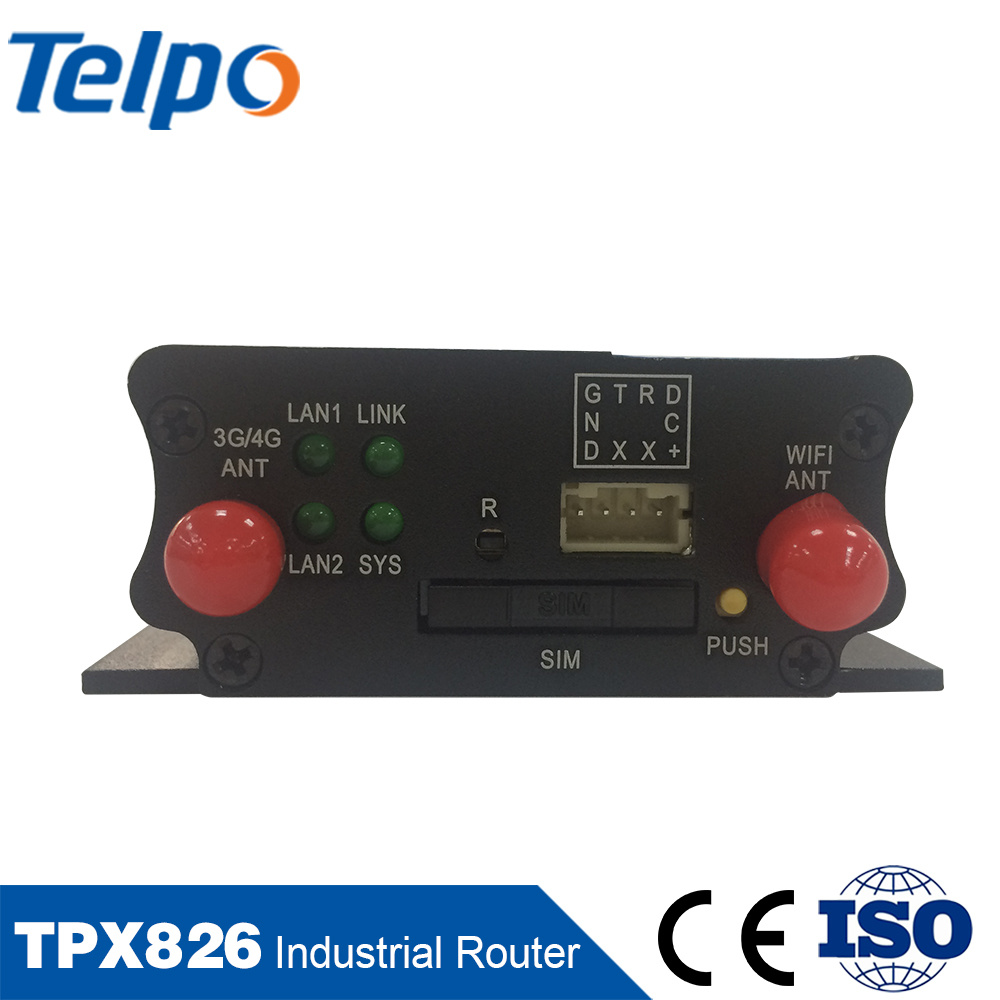 Telepower SIM Card Slot WiFi 3G 4G Router with External Antenna