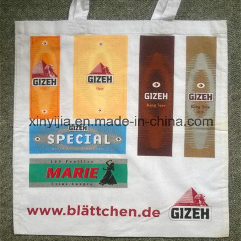 EU Standard Snowwhite Tote Cotton Bag with Print