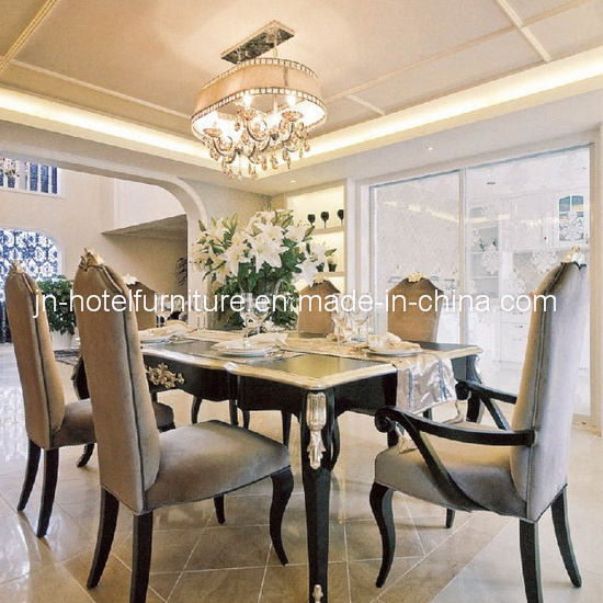 Chinese Wooden Dining Room Set