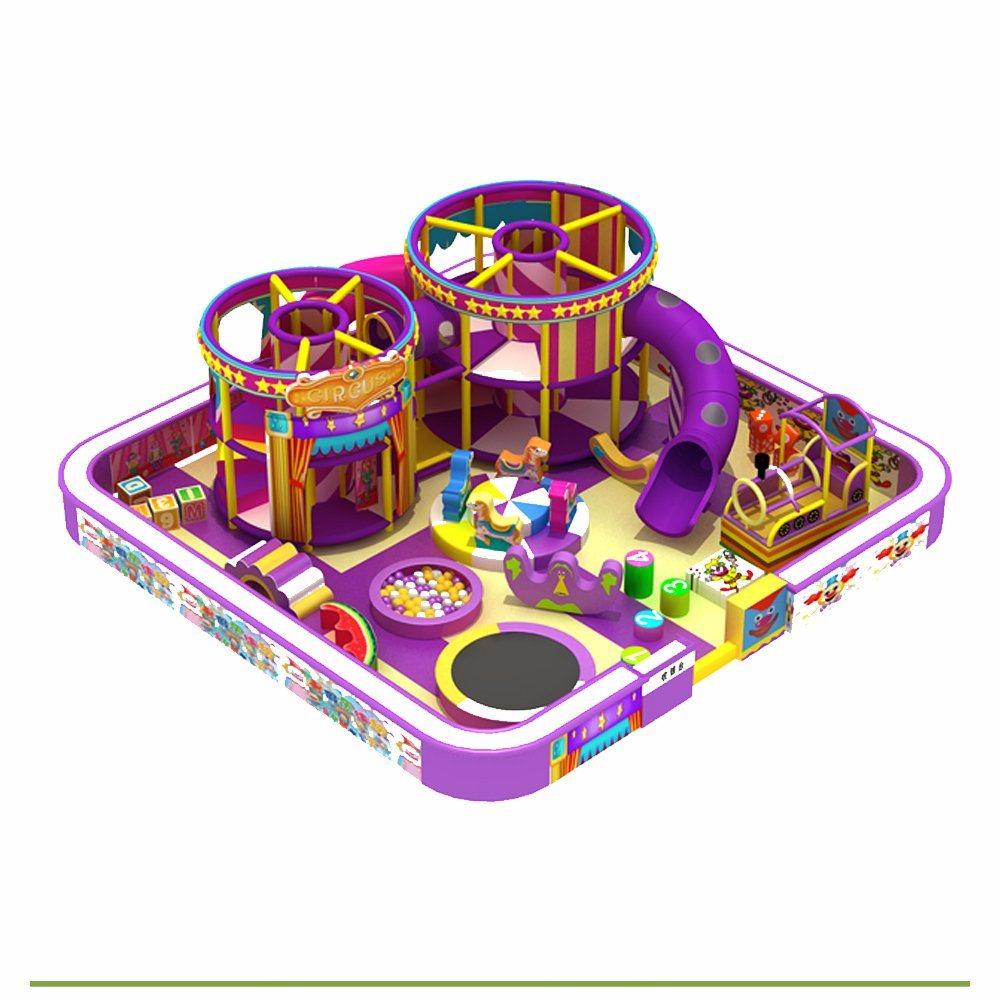 New Indoor Playground Equipment Plastic Toy Manufacturer Large Amusement Park Indoor Playground