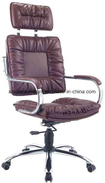 Guarantee Modern Metal Leather Office Chair