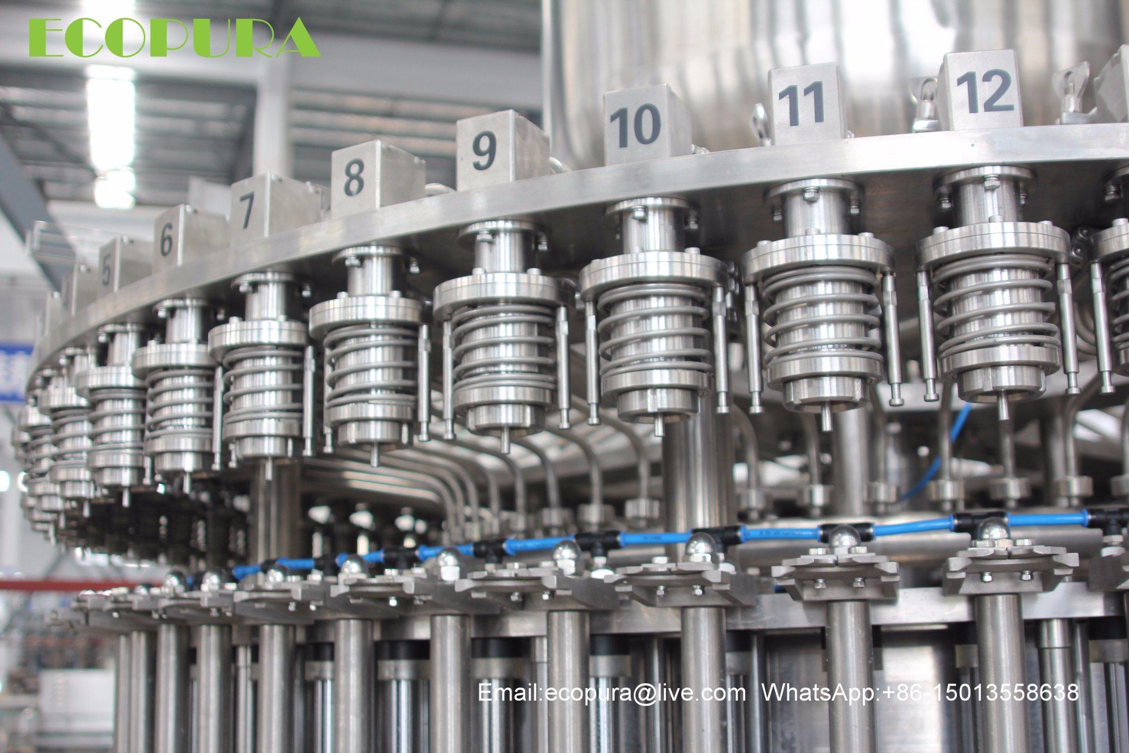 Carbonated Soft Drink Filling Machine / CSD Bottling Machine / Beverage Filling Line