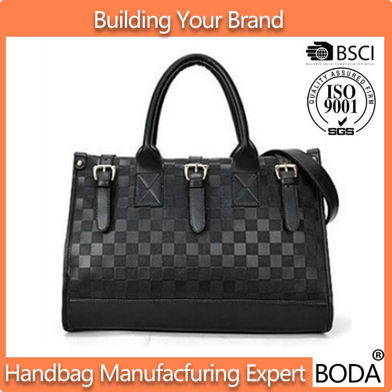 New Black Vintage British Stylish fashion Ladies Handbag (BDX-171115)