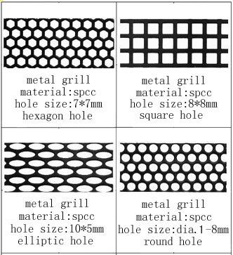 China Speaker Parts Metal Mesh Sheet Speaker Grille