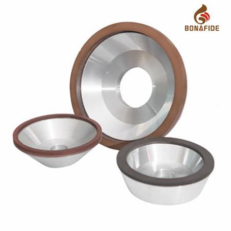 Diamond Resin-Bonded Grinding Wheel with DIP Angle 45°