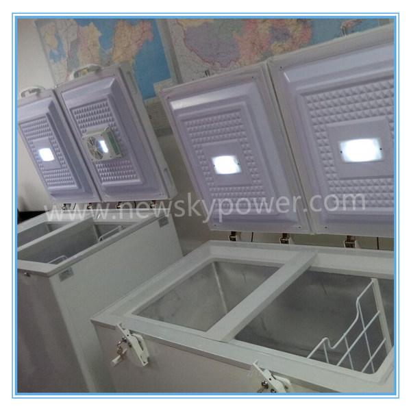 China Manufacturer Solar Power Chest Refrigertator Solar Freezer