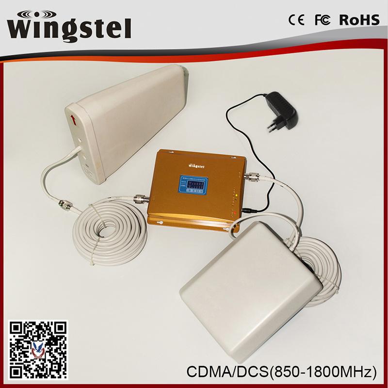 Dual Band CDMA/DCS 850/1800MHz 3G 4G Mobile Signal Booster