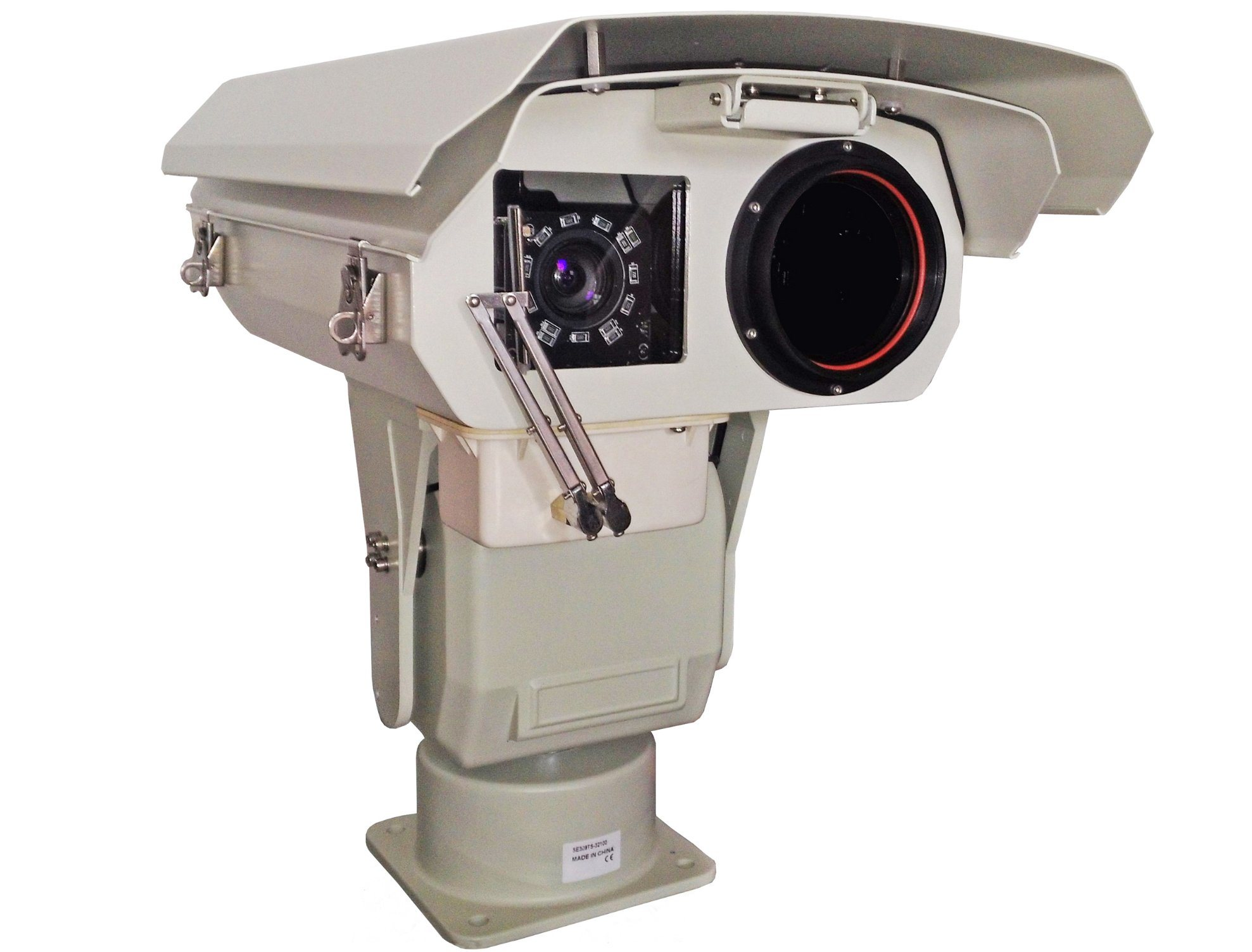 Economic Heavy Duty Thermal Laser PTZ HD1080p@30fps Camera with Internet Available
